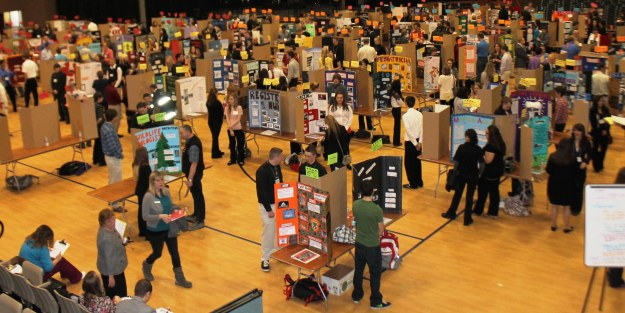 The 2013 Post Falls Reverse Job Fair was attended by 218 students.