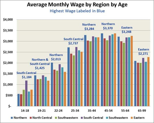 Average Monthly Wage