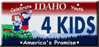 Idaho Youth License Plate